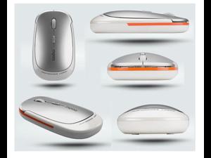 NEW 2.4G Rapoo 3500 Ultra Slim USB Wireless Laser Mouse White