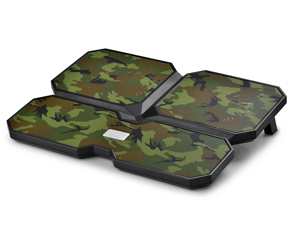 "DEEPCOOL Multi Core X6 Laptop Cooling Pad 15.6"" Metal Mesh Panel 2*100MM and 2*140mm Fans Camouflage Special Edition"