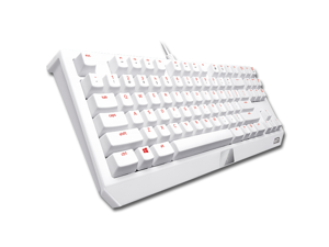 RAZER Blackwidow Tournament Edition Gaming Mechanical Keyboard Razer Green Switch LGD Gaming Edition - White