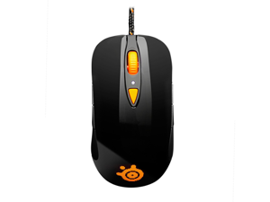 SteelSeries Sensei RAW Heat Orange 62163 Black 7 Buttons 1 x Wheel USB Wired Laser 5670 dpi Gaming Mouse
