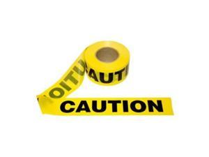Yellow Caution Barricade Tape 3 inch x 1000 feet