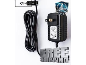 OMNIHIL AC/DC Power Adapter/Adaptor for Lacie Hard Drives and Media Players Replacement Power Supply Cord Home Wall Charger