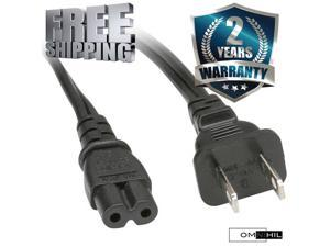 OMNIHIL AC Power Cord for Philips Zenith Pioneer Insignia LED LCD Plasma TV (Specific Models Only)