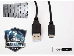 OMNIHIL High Speed 2.0 USB Data Trasfer Cable for Logitech Harmony Ultimate Hub Control 04858