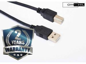 OMNIHIL High Speed 2.0 USB Data Trasfer Cable for Logitech Harmony Elite 915-000256