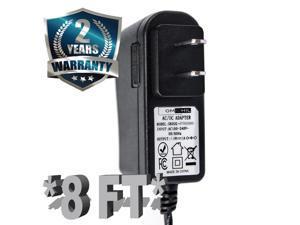 OMNIHIL (8 Foot Long) AC/DC Adapter/Adaptor for Pioneer DJ Remix Stations RMX-1000, RMX-500
