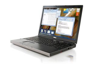 Dell Precision M6500 17in Workstation and Gaming Laptop Intel i5 2.4ghz Nvidia 2800m 4 gigs ram 250G H/d Win 7 Pro Office 07