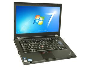 Refurbished: Lenovo T420 14in Laptop Win7 Pro Microsoft Office 07 Intel i5 2520m 4G 320G Word Excel Powerpoint Publisher Fully ...