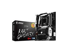 MSI Z170A KRAIT GAMING 3X LGA1151/ Intel Z170/ DDR4/ 3-Way CrossFireX & 2-Way SLI/ SATA3&USB3.1/ M.2&SATA Express/ A&GbE/ ATX Motherboard