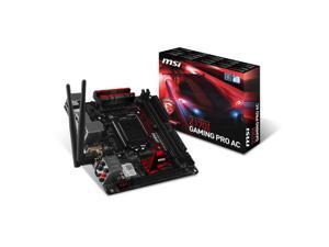 MSI Z170I GAMING PRO AC LGA1151/ Intel Z170/ DDR4/ SATA3&USB3.1/ M.2&SATA Express/ WiFi/ A&GbE/ Mini-ITX Motherboard