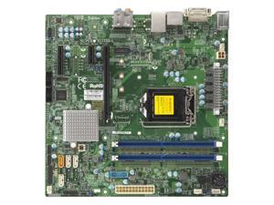 Supermicro X11SSQ-L-B LGA1151/ Intel H110/ DDR4/ SATA3&USB3.0/ A&GbE/ MicroATX Motherboard