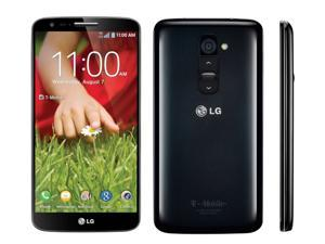 Refurbished: T-Mobile Unlocked LG G2 D801 16GB 4G LTE GSM Black Smartphone