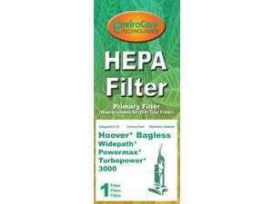 Hoover Bagless Widepath, Powermax, Turbopower 3000 HEPA Filter Primary Filter by EnviroCare