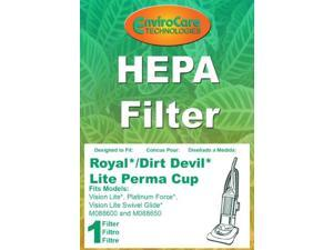 Dirt Devil / Royal Perma Filter 860210 For Vision and Vision Lite Upright Vacuum Cleaners