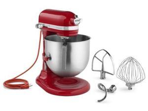 KitchenAid KSM8990ER 8-Qt Commercial Bowl-Lift Stand Mixer, Empire Red
