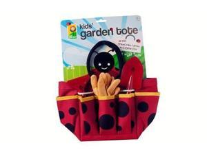 Toysmith Kids Ladybug Garden Tote