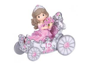 "Precious Moments, Birthday Gifts, ""Quinceanera"", Resin Figurine, #133413"