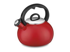 Cuisinart CTK-EOS17R Aura Enamel-on-Steel Stovetop Teakettle, Red