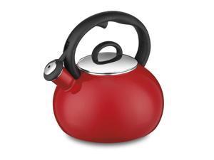 Cuisinart CTK-EOS17R Aura Enamel-on-Steel Stovetop Teakettle, Red