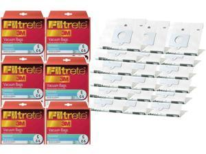 18 Kenmore 3M Filtrete Style C, Style Q 5055 20-50557 Progressive, Intuition Canister Vacuum Bags 68700A-6, 18 Bulk Buy
