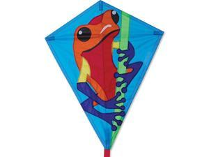 Premier 15492 25-Inch Diamond Kite with Solid Fiberglass Frame, Poison Dart