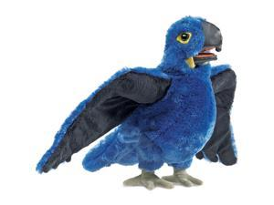 Folkmanis Blue Macaw Hand Puppet Plush
