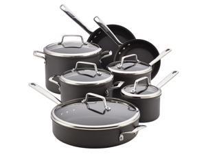 Anolon Authority 81009 12-Piece Cookware Set, Gray