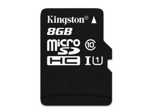 New Original Kingston High Capacity TF Flash 8GB Memory Card Card Class: 10 - 8GB Kingston High Capacity TF Flash Memory Card Read: 45MB/second (max.)Write: 10/second (max.)