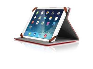 ALURATEK AUTC08FR UNIVERSAL 8 TABLET CASE RED