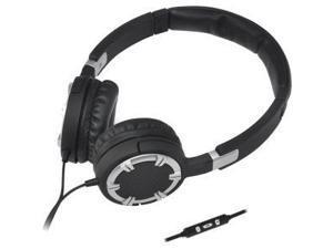 Stereo Headphones w Mic Silver