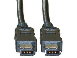 IEEE-1394, 6P / 6P, Firewire Cable, 15 ft