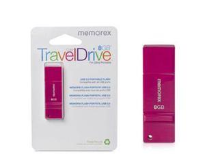 8GB Color TravelDrive Pink