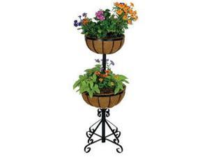 2 Tier Forge Planter