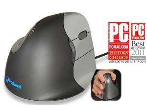 EVOLUENT VM4 VERTICAL MOUSE RIGHT HANDED - THE ERGONOMIC PATENTED SHAPE SUPPORTS