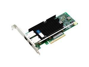 AddOn 10Gbs Dual Open RJ-45 Port 100m PCIe x8 Network Interface Card