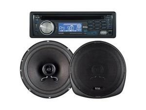 Boss 647CK Car CD/MP3 Player - 240 W RMS - iPod/iPhone Compatible - Single DIN