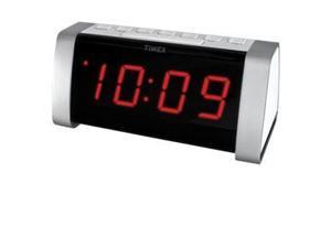 Dual Alarm Clock Radio White