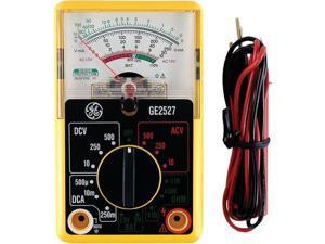GE 50952 14-Range 6-Function Analog Multimeter, Nonrecording