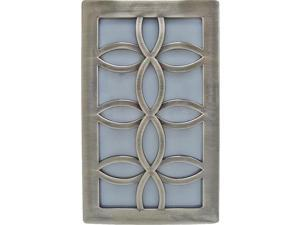 GE 11257 Faux Nickel Leaf Design Night Light