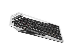 Mad Catz S.T.R.I.K.E. M Keyboard - Wireless - Bluetooth - WhiteTouchPad - Smart TV, Smartphone, Tabl
