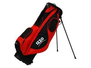 Izzo NEO Carrying Case for Glove, Bottle, Towel, Umbrella, Golf - Red - Carrying Strap, Shoulder Strap