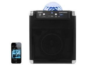 Ion Audio Party Rocker 2 Speaker System - Wireless Speaker(s) - Black - Bluetooth - iPod Supported