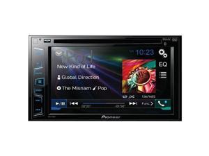 "PIONEER AVH-270BT 6.2"" Double-DIN DVD Receiver with Bluetooth(R)"