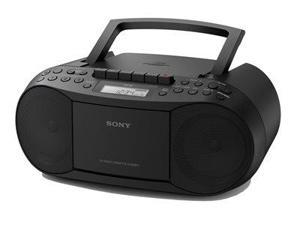 COMPACT DISC BOOMBOX BLK