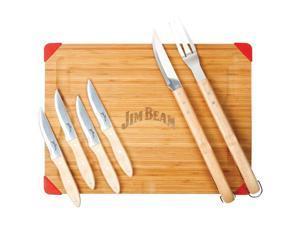 JIM BEAM JB0163 7-Piece Carving Set