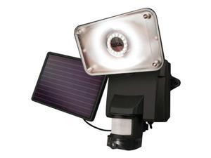 MAXSA INNOVATIONS 44642-CAM-BK Solar-Powered Security Video Camera & Floodlight