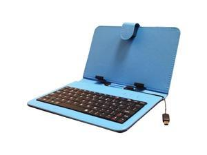 """Supersonic SC-107KB BLUE 7"""" Keyboard with USB"""