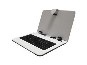 """Supersonic SC-107KB WHITE 7"""" Keyboard with USB (White)"""
