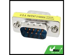 RS232 DB9 9 Pin Male to 9-Pin Male Adapter Converter