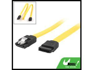 Serial ATA SATA HDD Data Cable Cord Hard Drive Clip 50cm Length